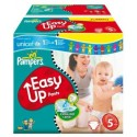 256 Couches Pampers Easy Up taille 5 sur Sos Couches