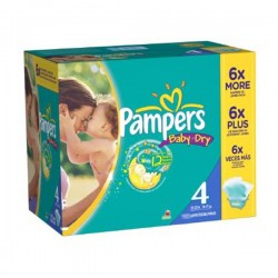 264 Couches Pampers Baby Dry 4
