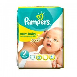 44 Couches de la marque Pampers New Baby taille 2 sur Sos Couches