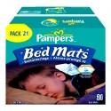 21 Alèses de lits Pampers 90X80cm sur Sos Couches