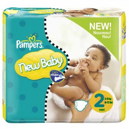 Achat 264 couches pampers new baby taille 2 petit prix sur sos couches - Couches pampers new baby taille 3 ...
