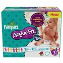372 Couches Pampers Active Fit taille 3 sur Sos Couches