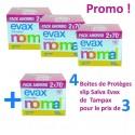 320 Protèges-Slips Tampax Salva Evax - 4 Packs de 140 sur Sos Couches