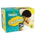 248 Couches Pampers New Baby taille 2 sur Sos Couches