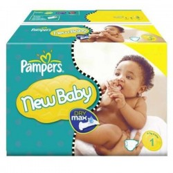 301 Couches Pampers Baby Dry taille 1