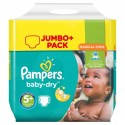 240 Couches Pampers Baby Dry 5+ sur Sos Couches