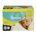 296 Couches Pampers New Baby taille 1 sur Sos Couches