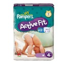 43 Couches Pampers Active Fit taille 4 sur Sos Couches