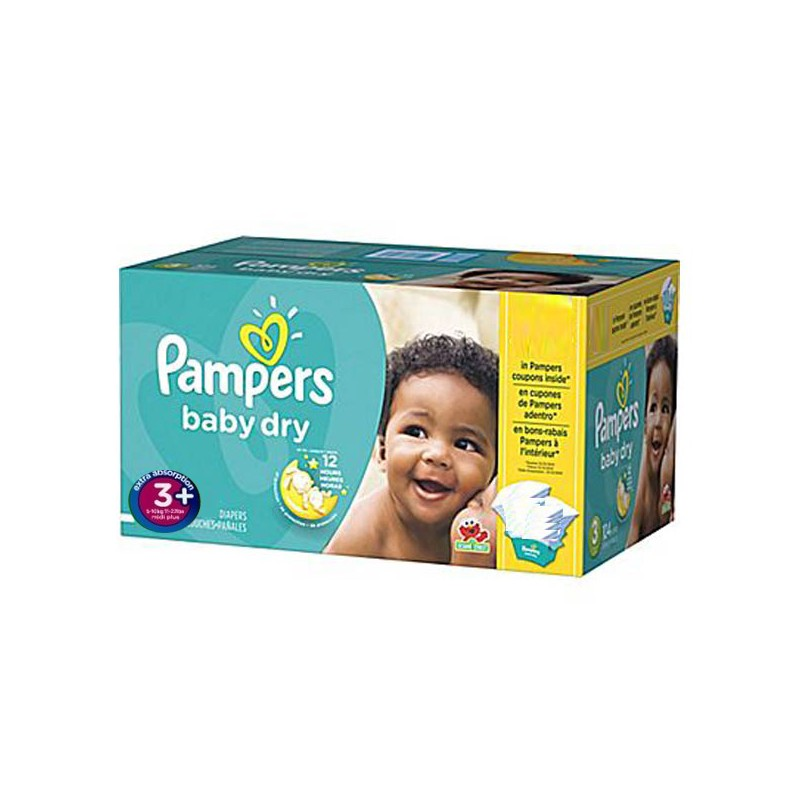 Achat 68 couches pampers baby dry taille 3 bas prix sur sos couches - Couche pampers baby dry taille 3 ...