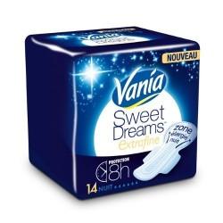 14 Serviettes hygiéniques Vania Sweet Dreams