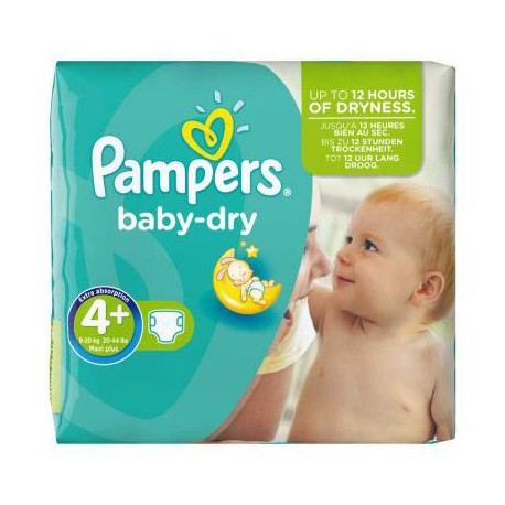 Achat 56 couches pampers baby dry taille 4 petit prix - Prix couches pampers baby dry taille 4 ...