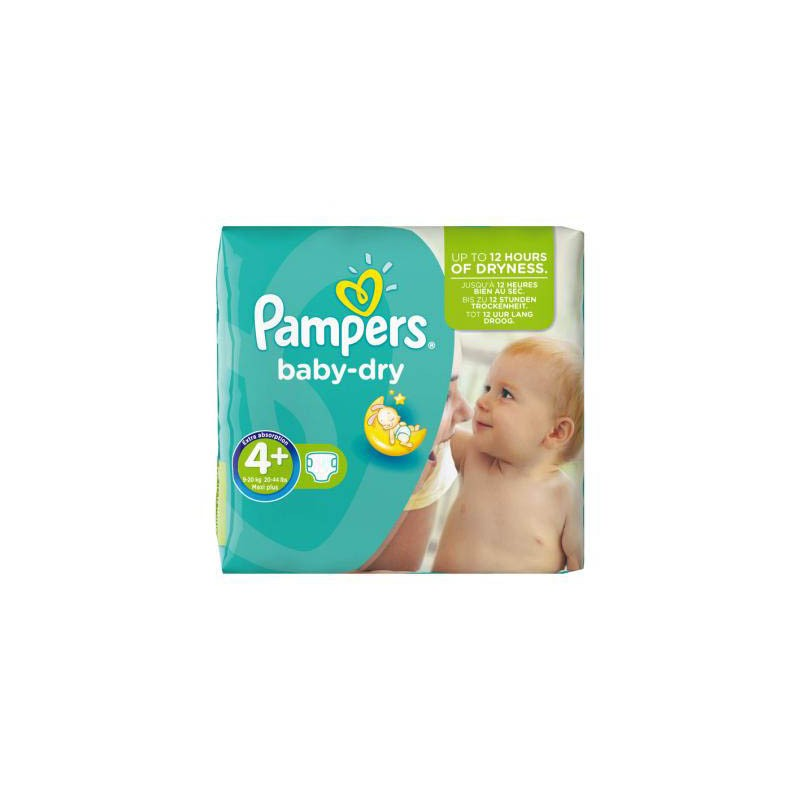 Achat 56 couches pampers baby dry taille 4 petit prix sur sos couches - Couches pampers baby dry ...