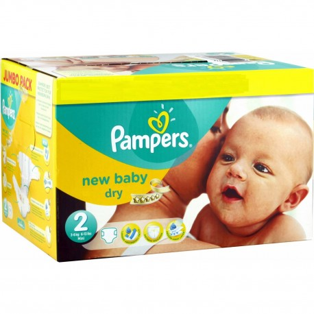 504 Couches Pampers New Baby Dry 2 sur Sos Couches