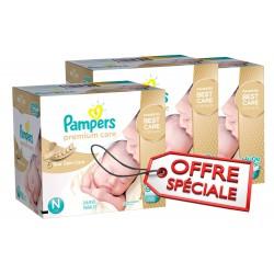 506 Couches Pampers de la gamme Premium Care de taille 1 sur Sos Couches