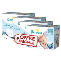 540 Couches Pampers New Baby Sensitive 2