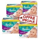 560 Couches Pampers Active Fit taille 3+ sur Sos Couches