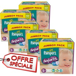 736 Couches Pampers Active Fit 5