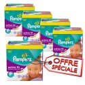 870 Couches Pampers Active Fit taille 5+ sur Sos Couches