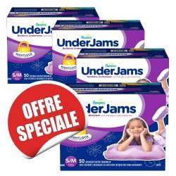 744 Sous-vêtements jetables Pampers Underjams - pour Filles de taille S/M sur Sos Couches