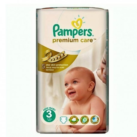 56 Couches Pampers Premium Care Pants taille 3 sur Sos Couches