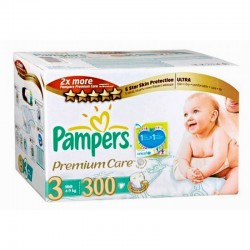 336 Couches Pampers Premium Care Pants 3