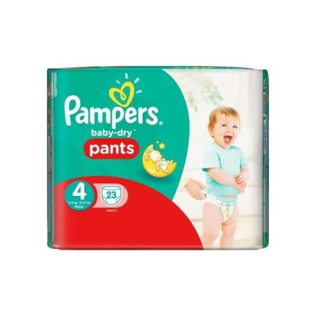 23 Couches Pampers Baby Dry Pants 4 sur Sos Couches