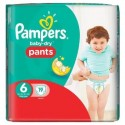 19 Couches Pampers Baby Dry Pants 6 sur Sos Couches