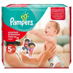 14 Couches de Pampers Easy Up taille 5 sur Sos Couches