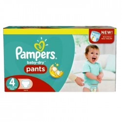 230 Couches Pampers Baby Dry Pants 4