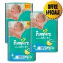 522 Couches Pampers Active Baby Dry taille 4 sur Sos Couches