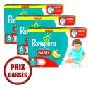 105 Couches Pampers Baby Dry Pants taille 6 sur Sos Couches