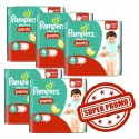 252 Couches Pampers Baby Dry Pants 6 sur Sos Couches
