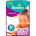 56 Couches Pampers Active Fit taille 5+ sur Sos Couches