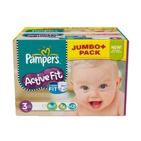 360 Couches Pampers Active Fit 3 sur Sos Couches