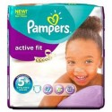 58 Couches Pampers Active Fit 5+ sur Sos Couches