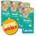 232 Couches Pampers Active Baby Dry taille 5 sur Sos Couches