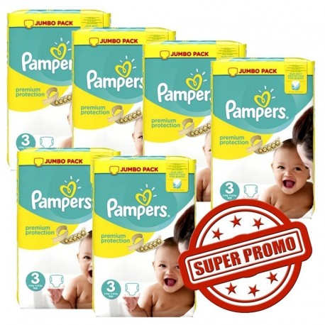 308 Couches Pampers Premium Protection taille 3 sur Sos Couches