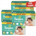 792 Couches Pampers Active Baby Dry taille 4 sur Sos Couches