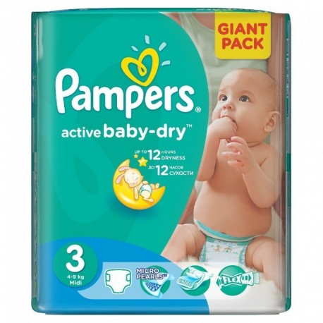 Achat 82 couches pampers active baby dry taille 3 pas cher sur sos couches - Couche pampers baby dry taille 3 ...