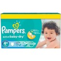 112 Couches Pampers Active Baby Dry taille 4+ sur Sos Couches