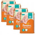 204 Couches Pampers Sleep & Play taille 2 sur Sos Couches