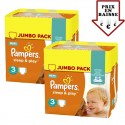 448 Couches Pampers Sleep & Play taille 3 sur Sos Couches