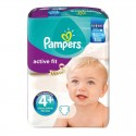 94 Couches Pampers Active Fit taille 4+ sur Sos Couches