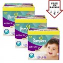 470 Couches Pampers Active Fit taille 4+ sur Sos Couches