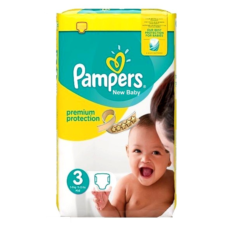 Achat 29 couches pampers premium protection taille 3 bas prix sur sos couches - Couches pampers taille 3 ...