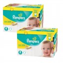 336 Couches Pampers Premium Protection - New Baby taille 4 sur Sos Couches