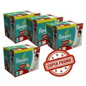 252 Couches Pampers Baby Dry Pants taille 5 sur Sos Couches