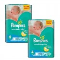 270 Couches Pampers Active Baby Dry taille 4+ sur Sos Couches