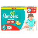 64 Couches Pampers Baby Dry Pants taille 6+ sur Sos Couches