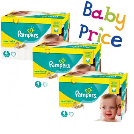 320 Couches Pampers New Baby - Premium Protection taille 4 sur Sos Couches